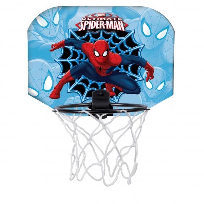 Set Baschet Spiderman 30x22.5 cm cu minge soft 100mm