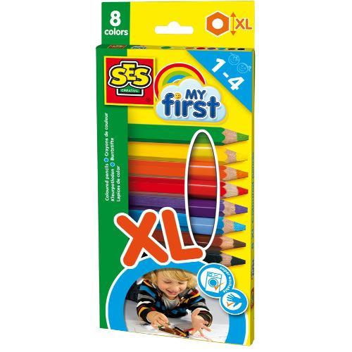 Set Primele Mele Creioane Colorate