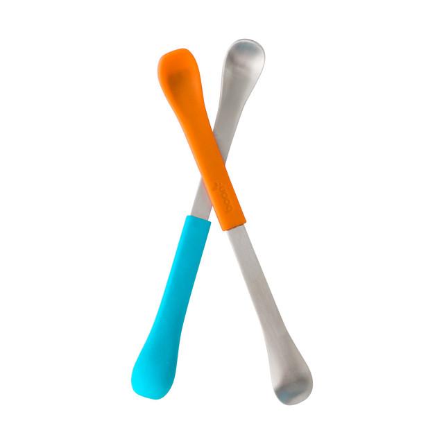 Set SWAP lingurita 2-in-1 albastru+portocaliu