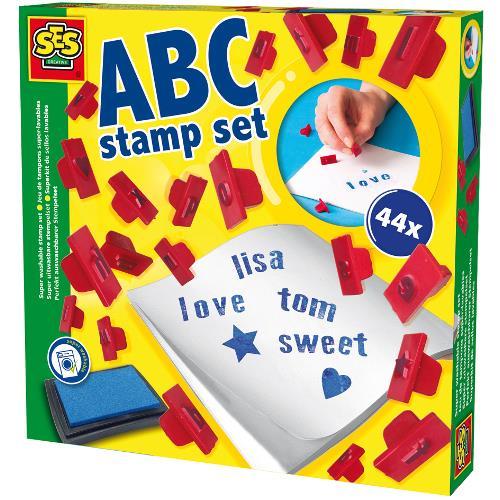 Set Stampile Lavabile - Alfabet