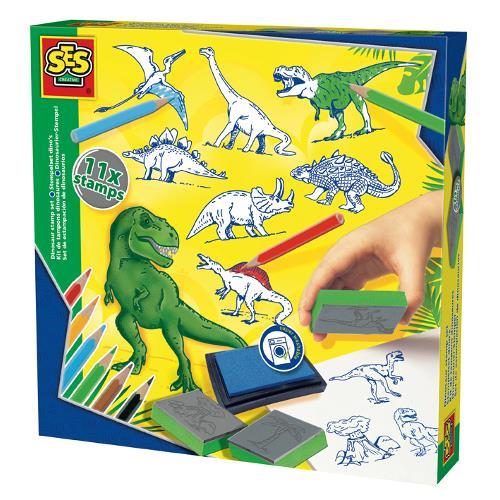 Set Stampile cu Dinozauri