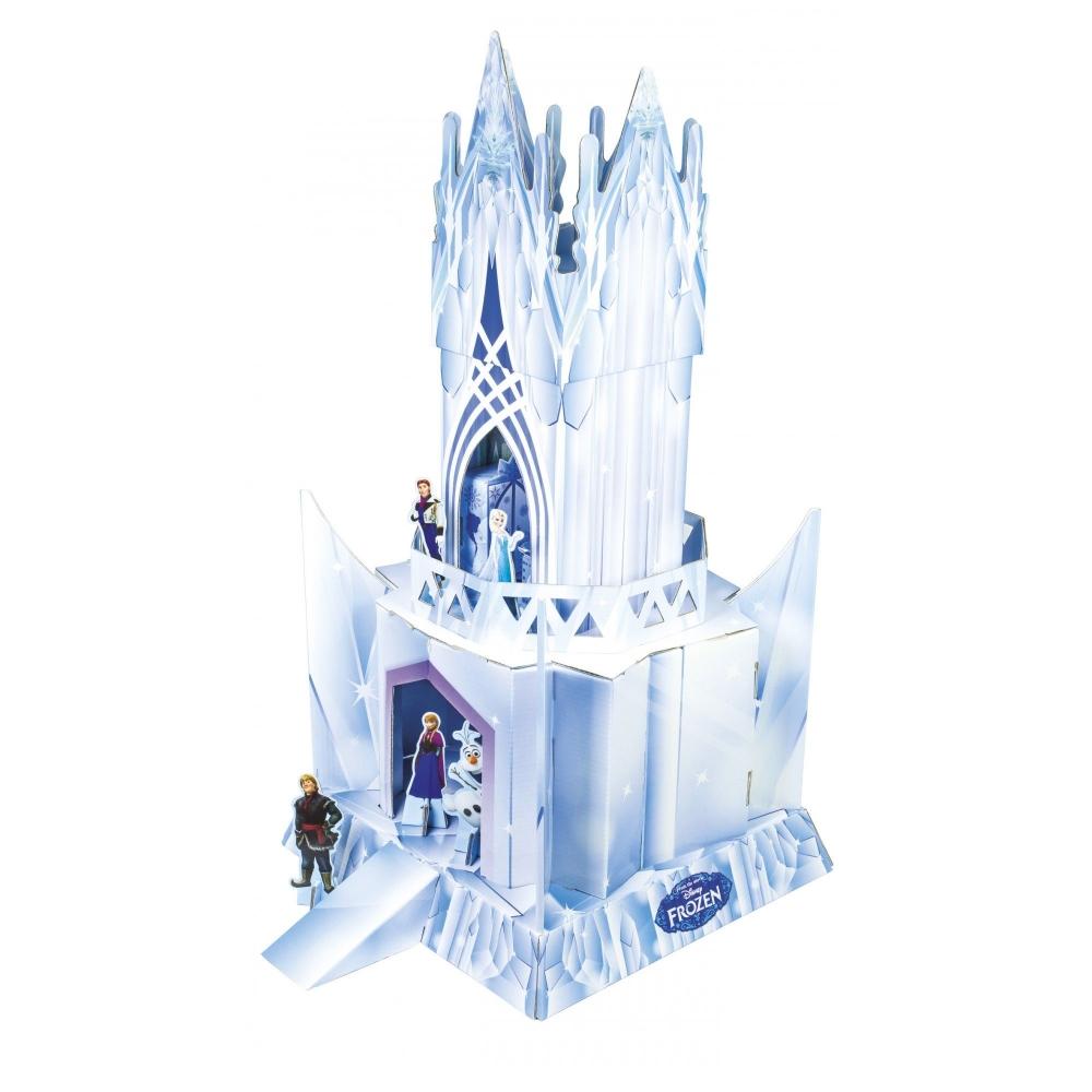 Set de construit din carton ecologic Frozen