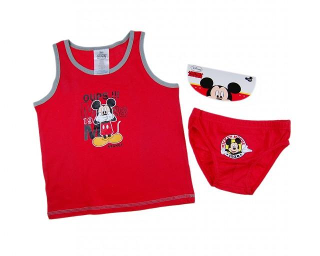 Set lenjerie Mickey Mouse (Masura 104110 (45 ani))
