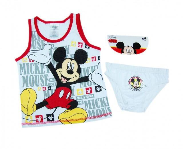 Set lenjerie maieu si chilot Mickey (Masura 9298 (23 ani))