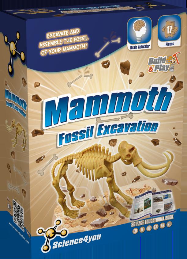 Set paleontologie - Mamut