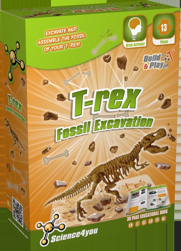 Set paleontologie - T-Rex