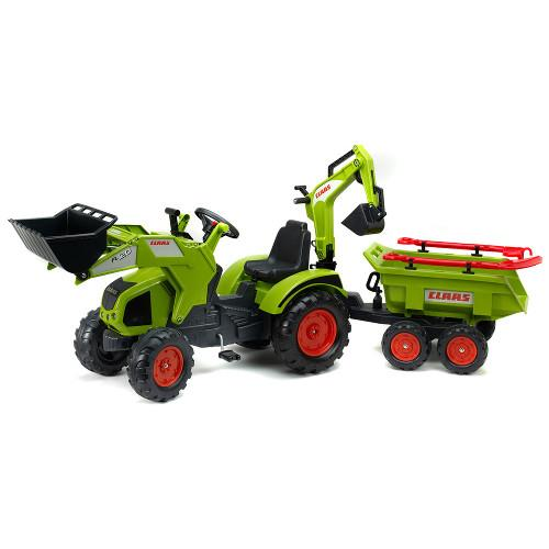 Tractor Claas Axos cu Cupa, Remorca si Accesorii