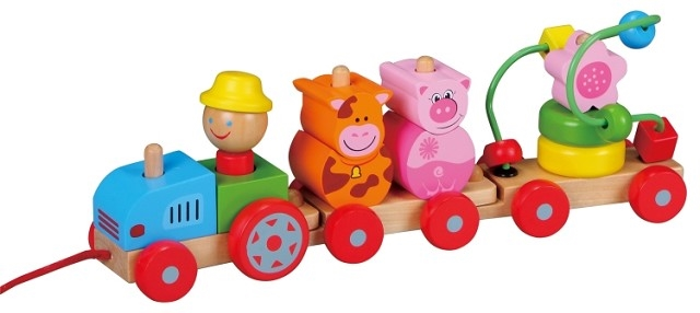 Tractoras cu figurine