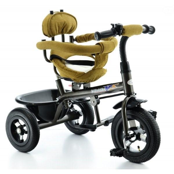 Tricicleta EURObaby cu scaun rotativ T306E Galben