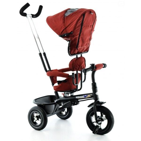 Tricicleta EURObaby cu scaun rotativ T306E Rosu