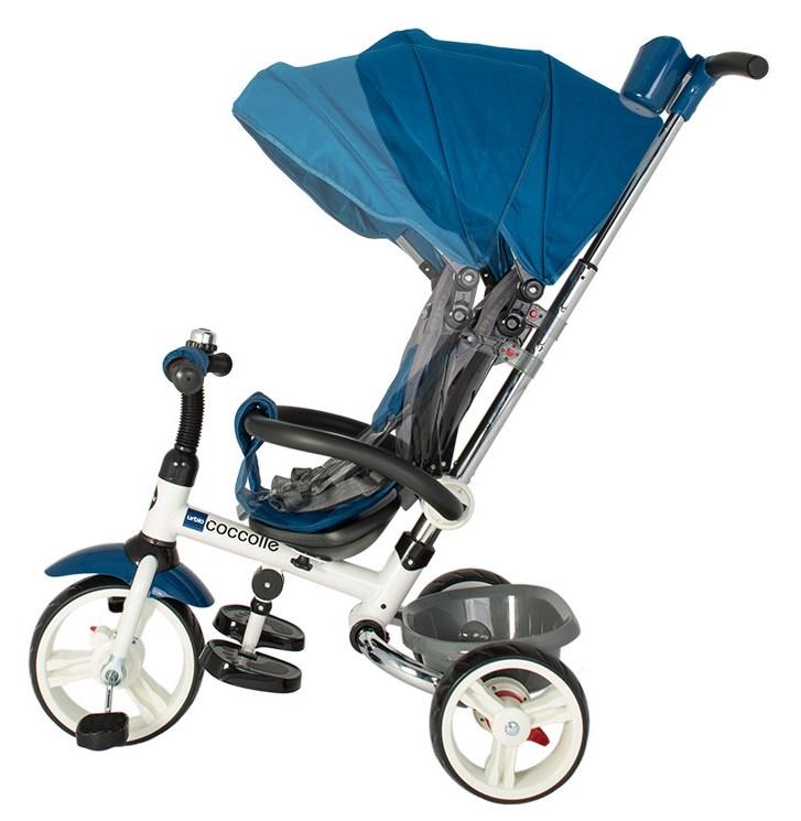 Tricicleta pliabila Coccolle Urbio Blue