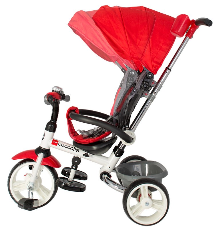 Tricicleta pliabila Coccolle Urbio Red