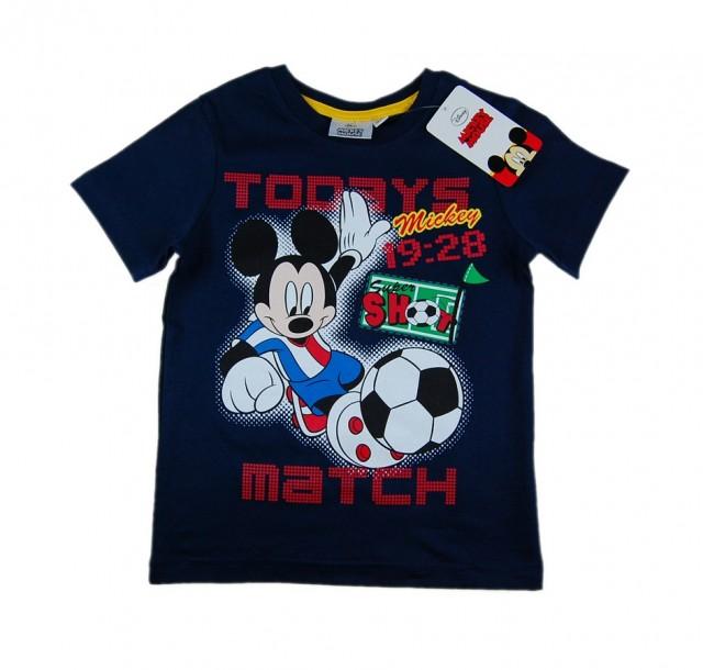 Tricou baieti Mickey Football (Masura 98 (2-3 ani))