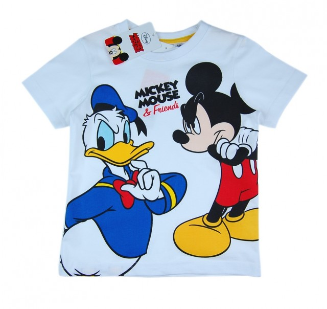 Tricou cu Mickey si Donald (Masura 98 (2-3 ani))