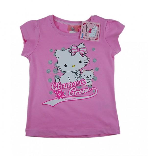Tricou fete Hello Kitty (Masura 128 (7-8 ani))