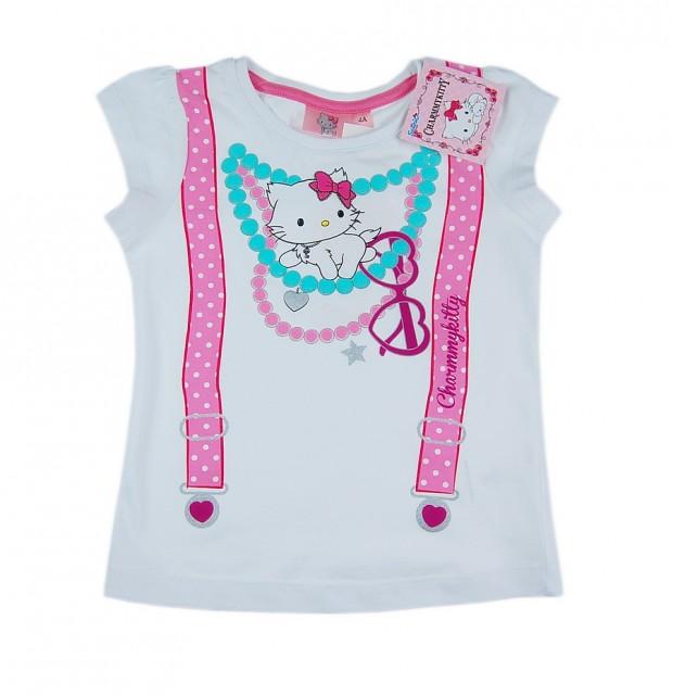 Tricou fetite Hello Kitty (Masura 104 (3-4 ani))