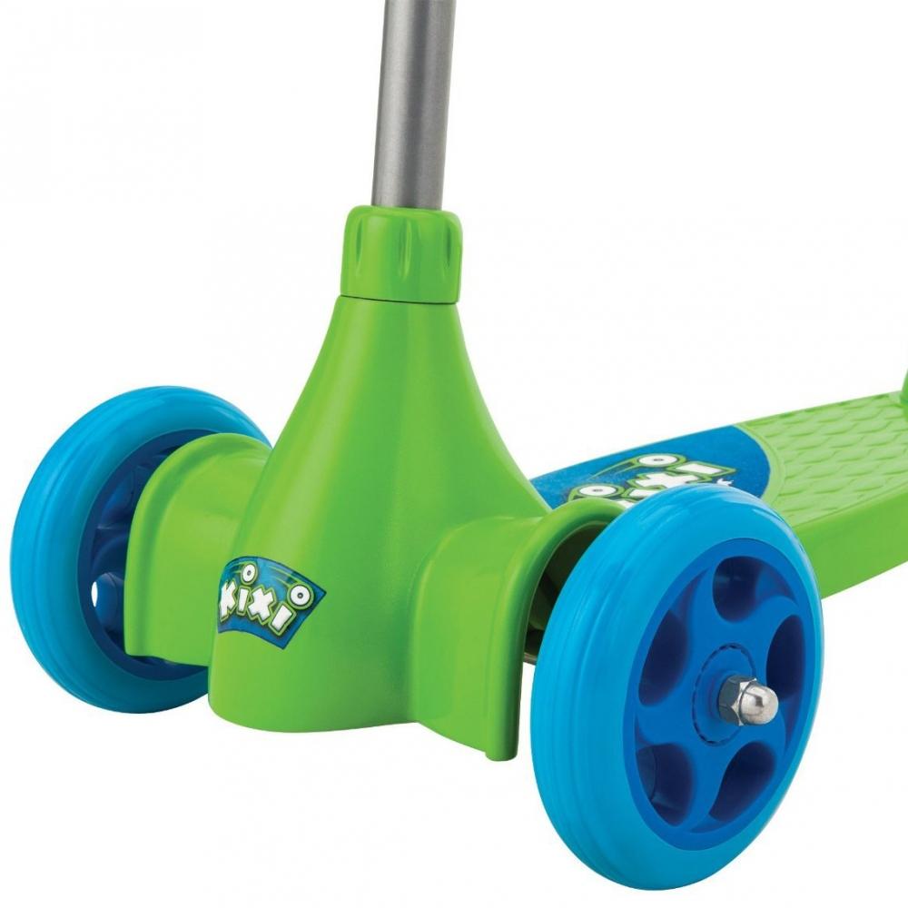 Trotineta pentru copii Razor Kixi Kix Scribble verde albastru