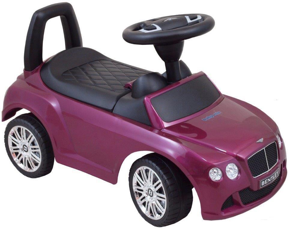 Vehicul pentru copii Bentley Purple din categoria La Plimbare de la BABY MIX