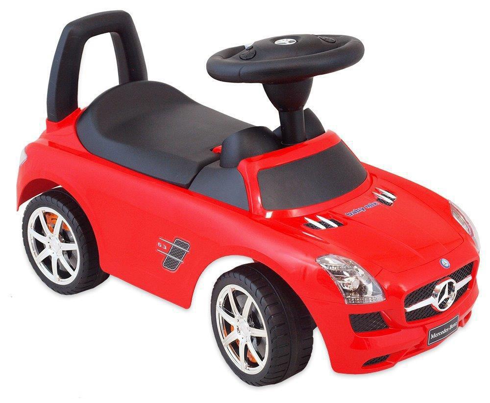 Vehicul pentru copii Mercedes Red din categoria La Plimbare de la BABY MIX