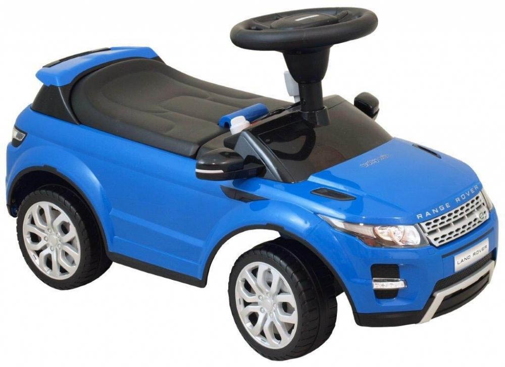 Vehicul pentru copii Range Rover Blue din categoria La Plimbare de la BABY MIX