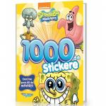Carte cu 1000 Stickere SpongeBob