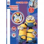 Carte cu stickere Minions