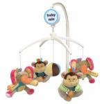 Carusel muzical Elephant & Monkey