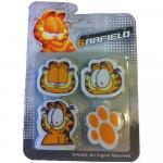 Guma de sters Garfield 4 buc