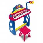 Orga electronica cu 31 clape, scaun si microfon