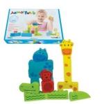 Puzzle bebe 4 Animale Beleduc