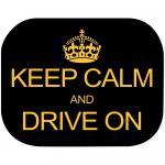Set 2 parasolare Keep Calm and Drive On Eurasia 10940