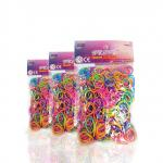 Set 600 inele + 24 clipsuri Loombands in S si unealta