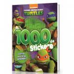 Testoasele Ninja - Carte cu 1000 Stickere