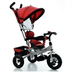 Tricicleta EURObaby 906 New Air - Rosu
