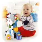 Zebra creativa cu cuburi Fisher-Price