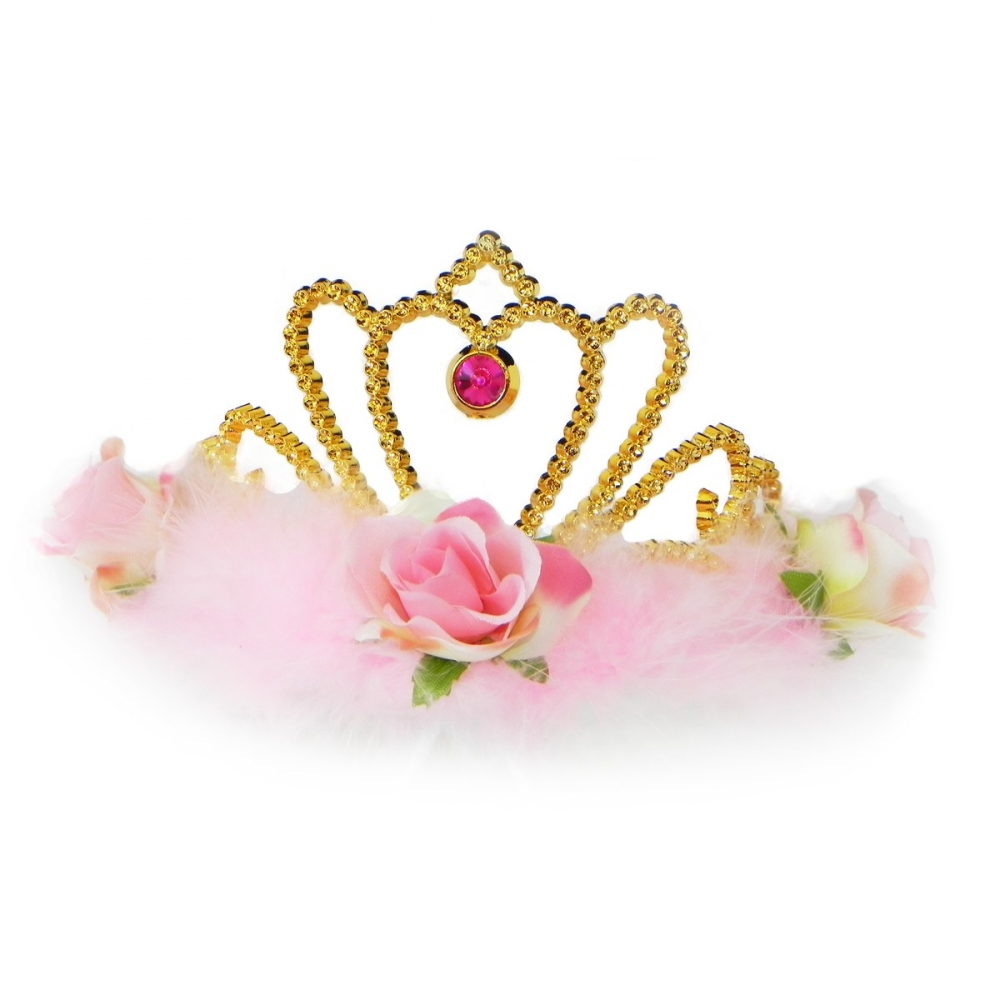 Accesoriu deghizare Coroana Pink Rose