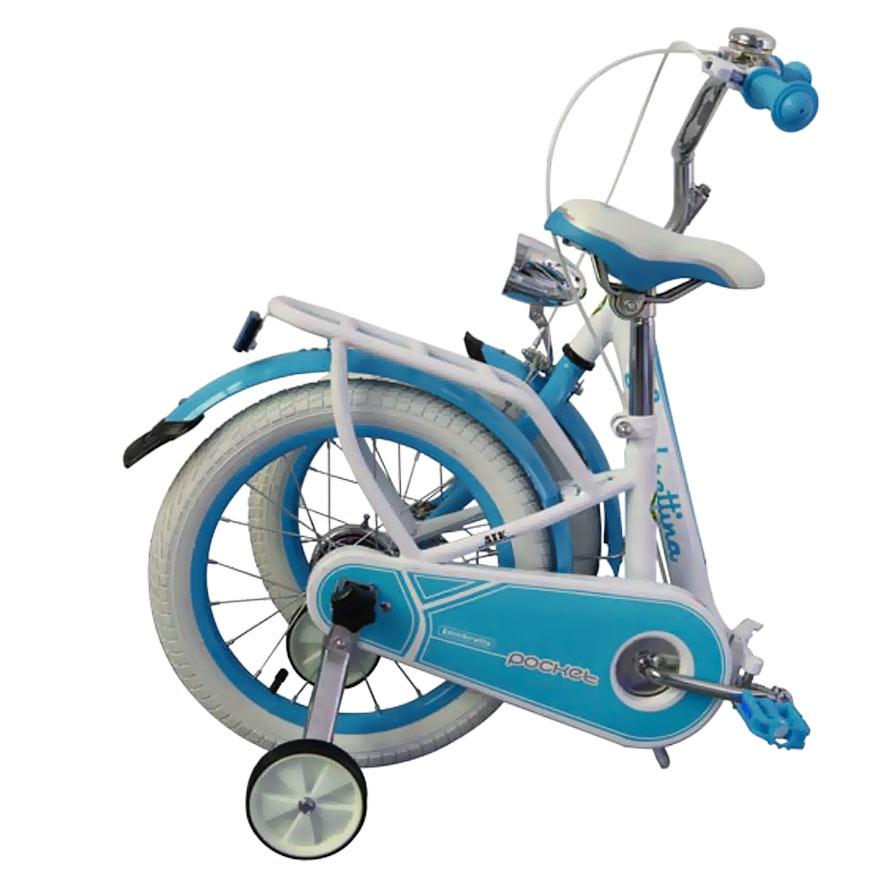 Bicicleta copii pliabila Lambrettina blue 16 ATK Bikes