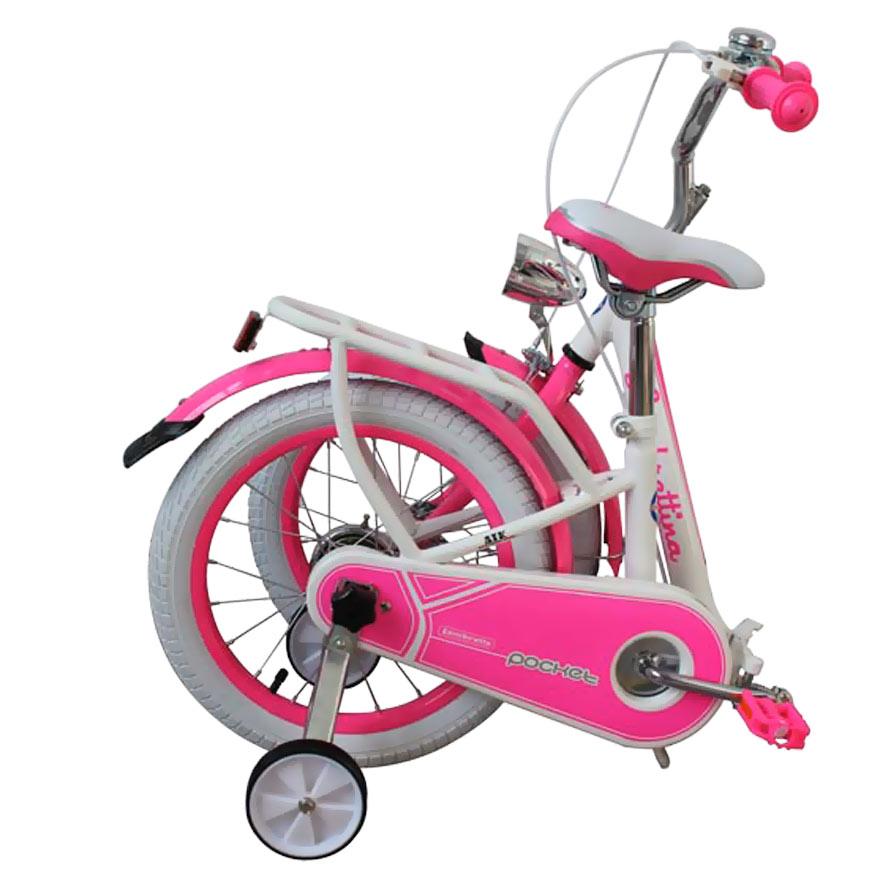 Bicicleta copii pliabila Lambrettina pink 14 ATK Bikes