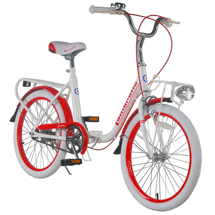 Bicicleta copii pliabila Lambrettina red 20 ATK Bikes