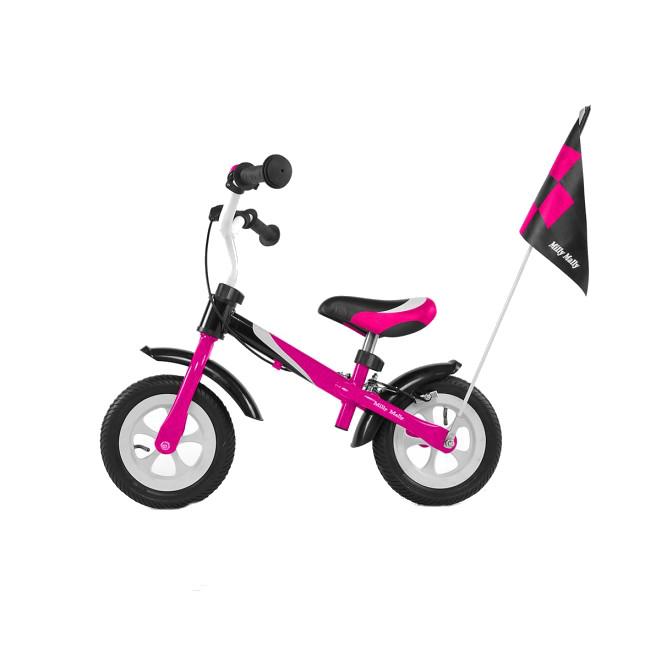 Bicicleta fara pedale Dragon Deluxe Pink