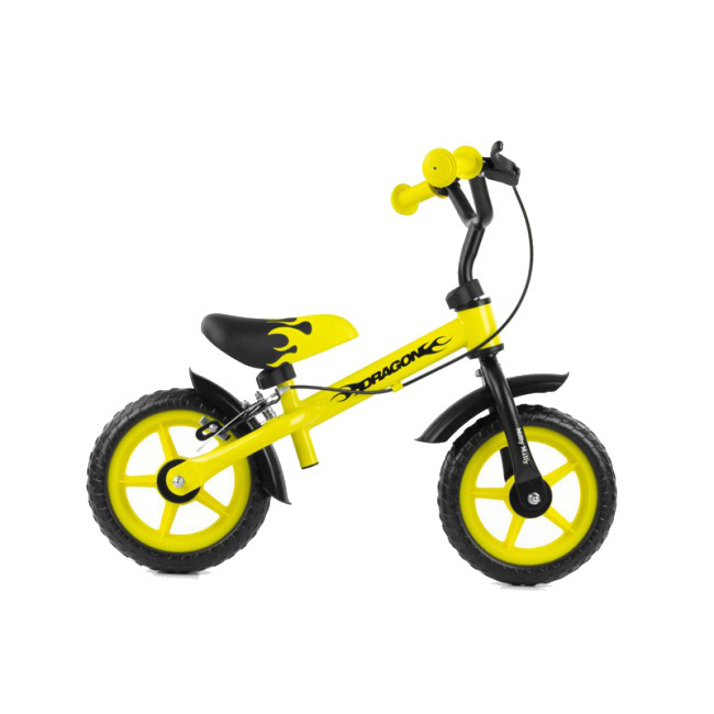 Bicicleta fara pedale Dragon Z Gelb