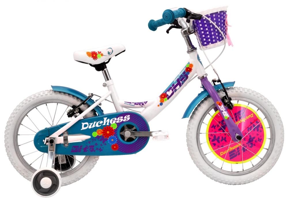 Bicicleta pentru copii Duchess White 14 inch