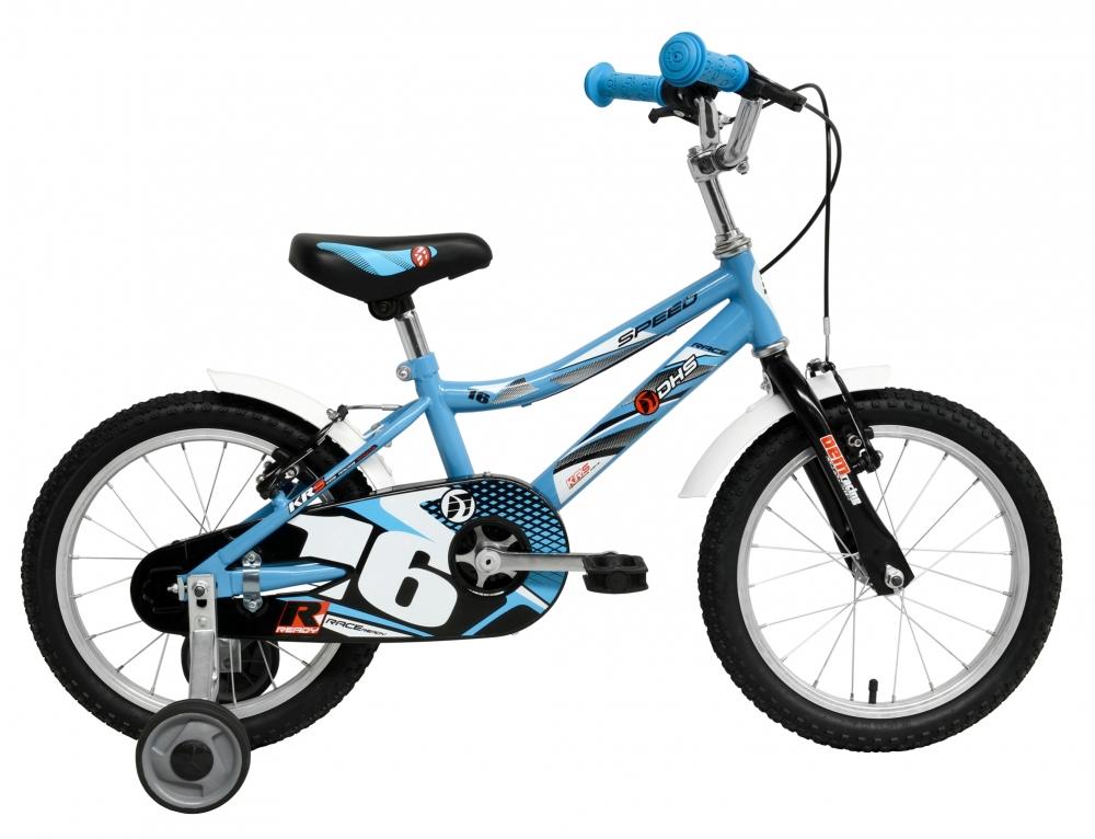 Bicicleta pentru copii Kid Racer Albastra 16 inch