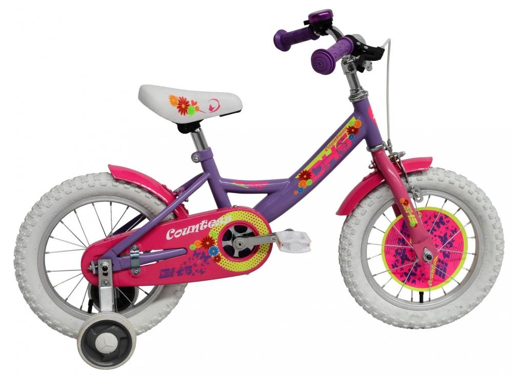 Bicicleta pentru fetite Duchess Violet 14 inch