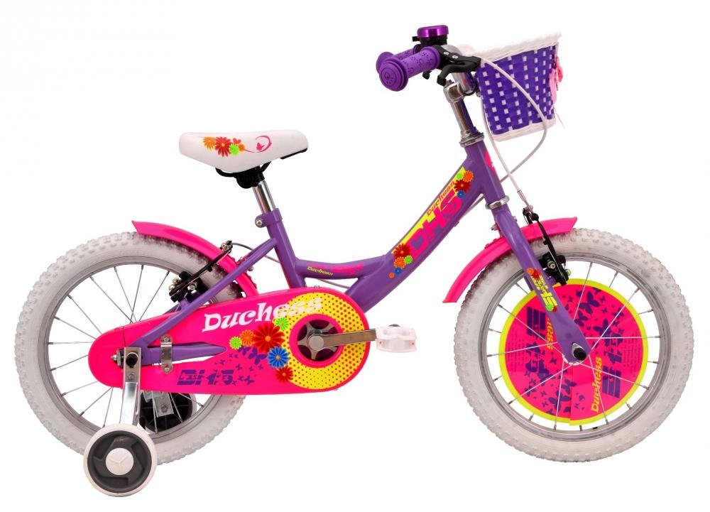 Bicicleta pentru fetite Duchess Violet 16 inch