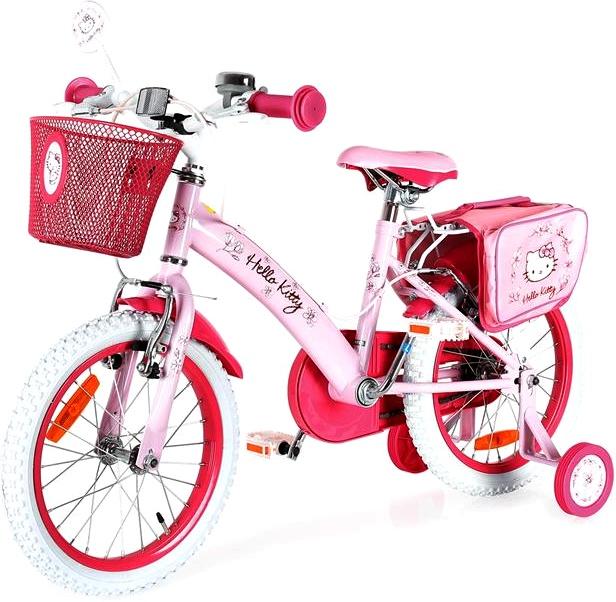 Bicicleta pentru fetite Hello Kitty Romantic 16 inch