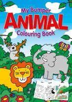 Carte de colorat Jumbo Animale