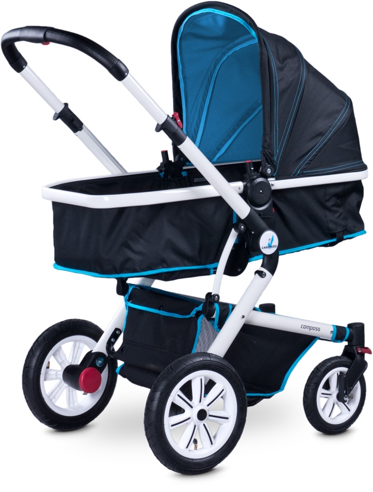 Carucior 2 in 1 Caretero Compass blue
