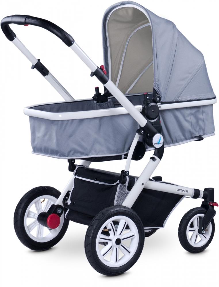 Carucior 2 in 1 Caretero Compass grey