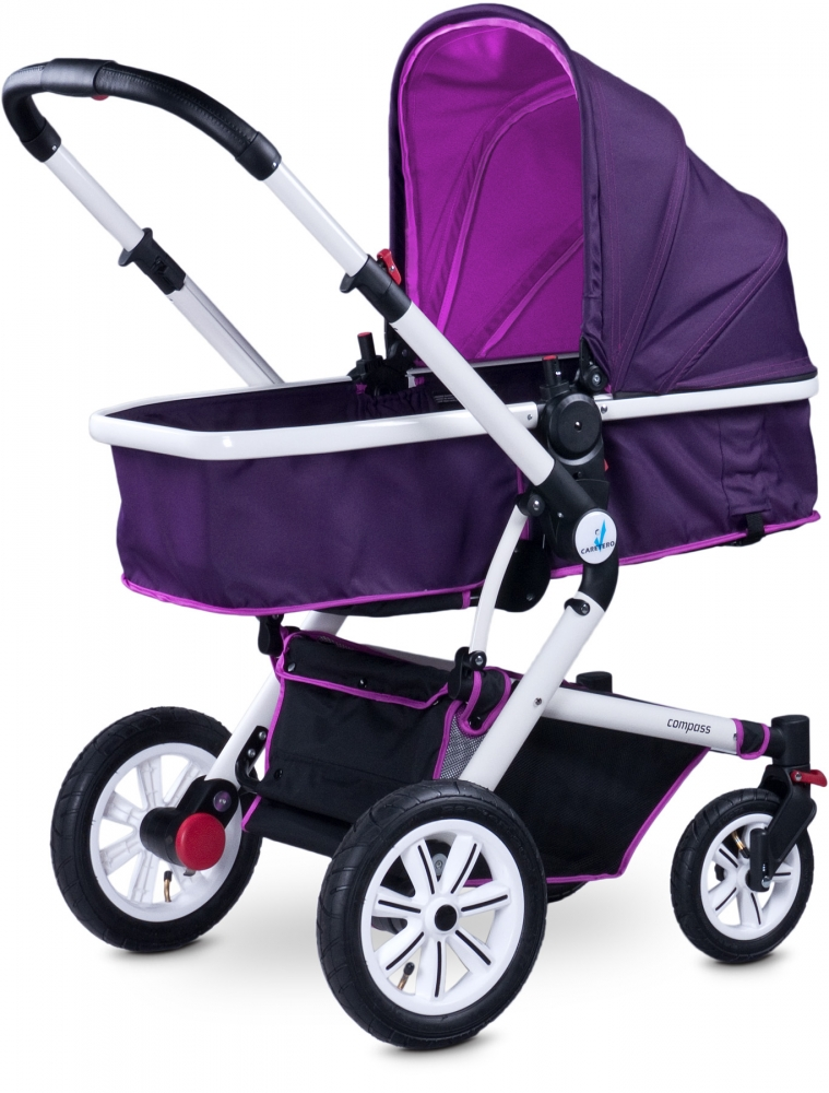 Carucior 2 in 1 Caretero Compass purple